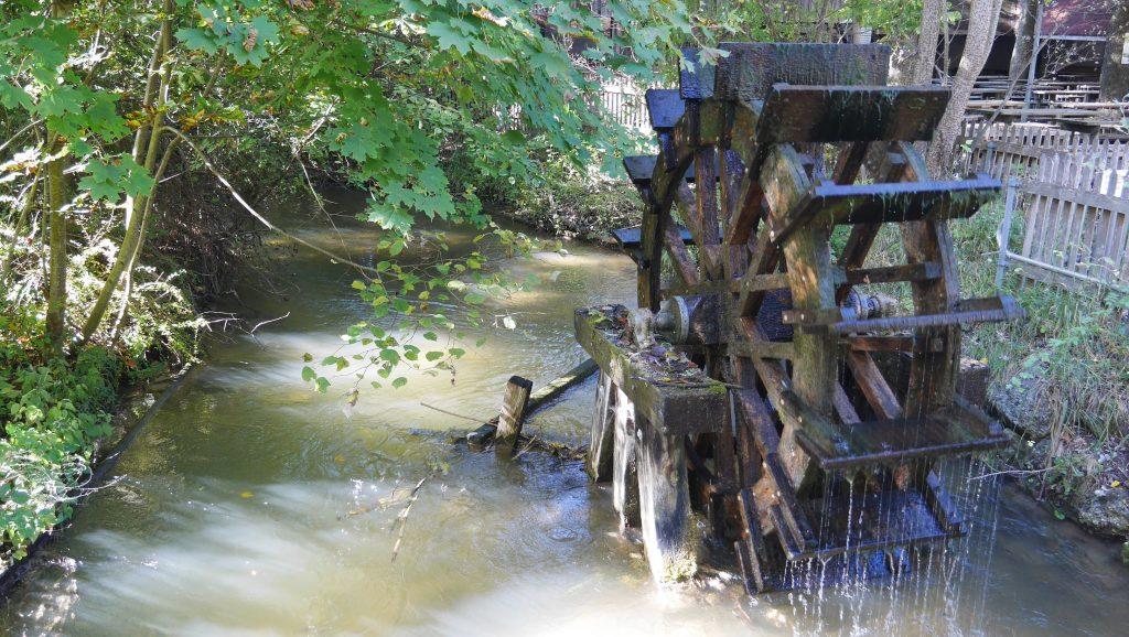Wasserrad, Garching bei München - Foto: A. Heuwinkel-Otter