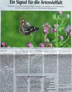 Ein Signal für die Artenvielfalt_LZ 29.07.2020